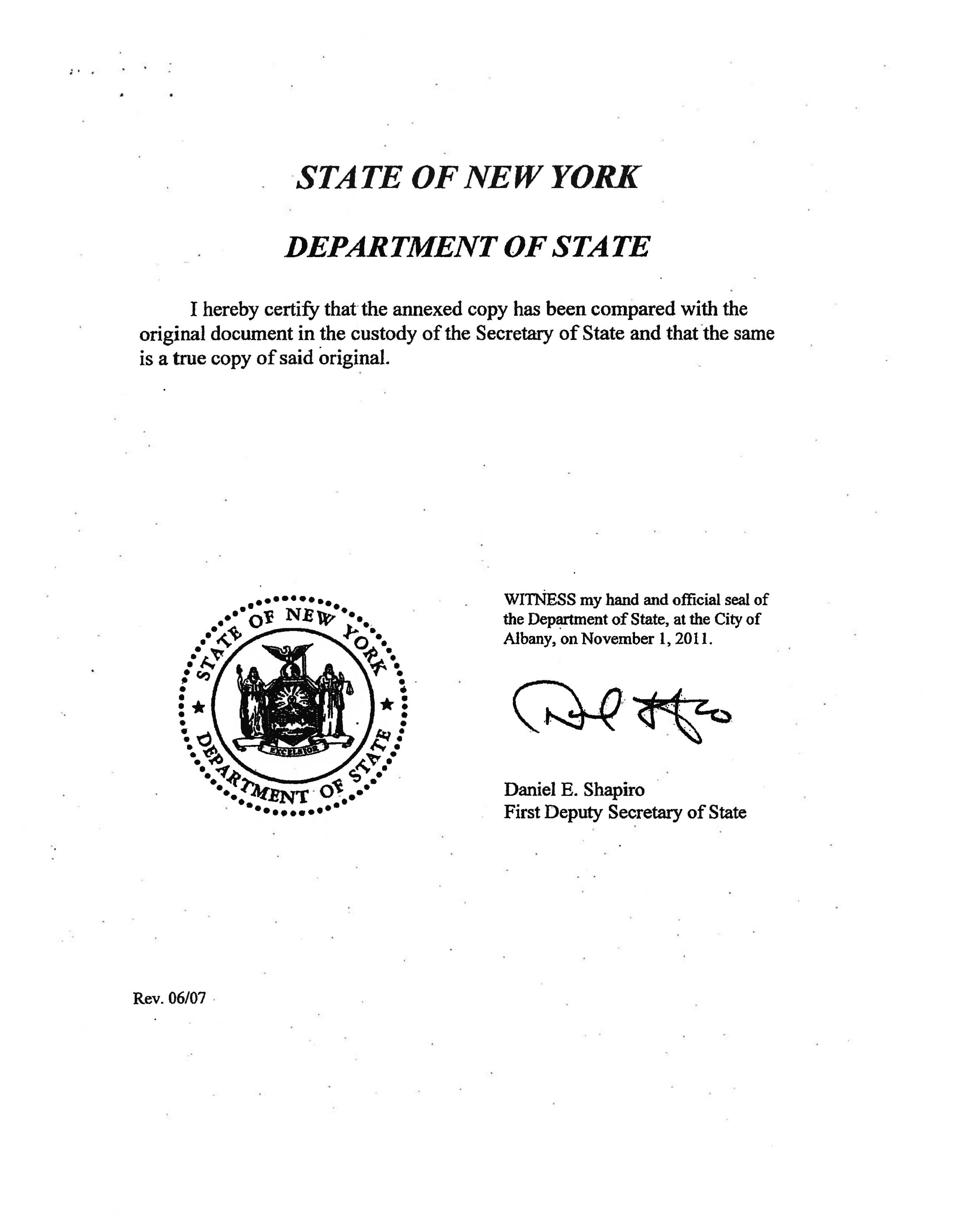State of delaware division of corporations certificate of good new york secretary of state certificate of good standing yelopaper Images